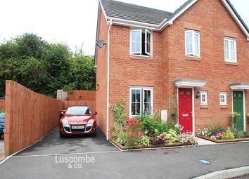 Thumbnail 3 bed semi-detached house to rent in Clos Ennig, Bettws, Newport