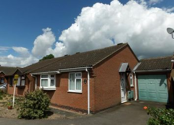 Thumbnail 2 bed bungalow for sale in Taylor Close, Syston, Leicestershire