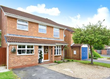 Thumbnail 4 bed detached house for sale in Norfolk Close, Wokingham, Berkshire