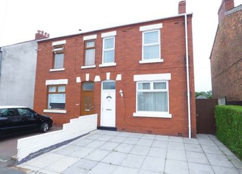 Thumbnail 4 bed semi-detached house for sale in Croston Road, Farington Moss, Leyland