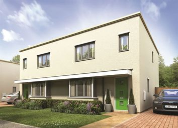 "Thumbnail 3 bed semi-detached house for sale in ""The Hatcliffe"" at Thomas Bata Avenue, East Tilbury, Tilbury"