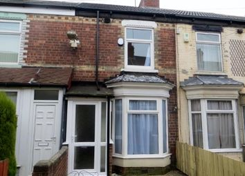 Thumbnail 2 bed terraced house to rent in Endsleigh Villas, Reynoldson Street, Hull