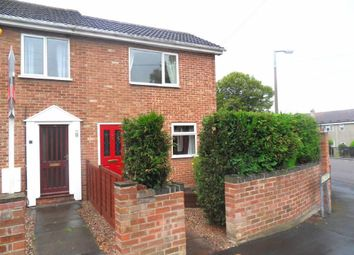 Thumbnail 2 bed semi-detached house for sale in Hall Street, Church Gresley, Swadlincote
