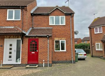 Thumbnail 2 bed semi-detached house to rent in Barge Close, Wigston
