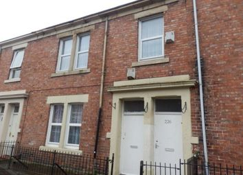 Thumbnail 3 bedroom flat for sale in Tamworth Road, Newcastle Upon Tyne