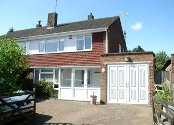 Thumbnail 3 bed semi-detached house for sale in Esher Avenue, Walton-On-Thames