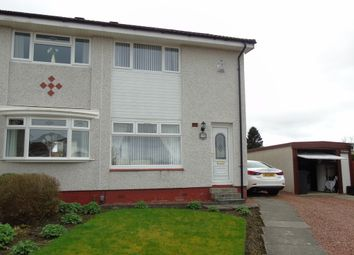 Thumbnail 2 bed semi-detached house for sale in Kirkton Crescent, Carnbroe, Coatbridge