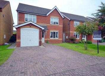 Thumbnail 4 bed detached house to rent in Swales Road, Humberston, Grimsby