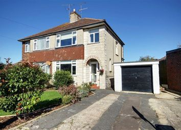 Thumbnail 3 bed semi-detached house for sale in Canterbury Road, Worthing, West Sussex