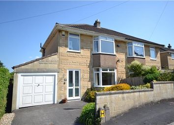 Thumbnail 3 bed semi-detached house to rent in Holcombe Close, Bathampton, Bath, Somerset