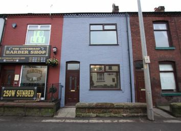 Thumbnail 2 bedroom terraced house to rent in Leigh Road, Boothstown, Manchester