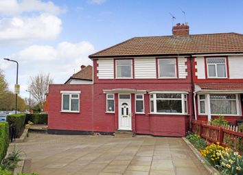 Thumbnail 4 bed semi-detached house for sale in Queensbury Road, Wembley, Middlesex