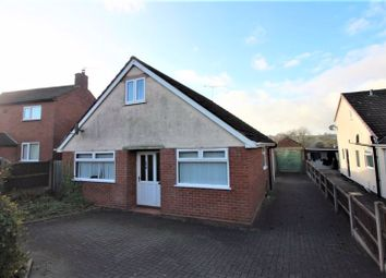Thumbnail 3 bed detached bungalow for sale in Hillcrest Avenue, Kingsley Holt, Stoke-On-Trent