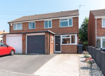 Thumbnail 3 bed semi-detached house for sale in St. Francis Close, Deal