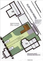 Thumbnail Land for sale in Elm High Road, Wisbech