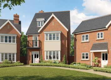 Thumbnail 4 bed detached house for sale in Beacon Avenue, Kings Hill, Kent