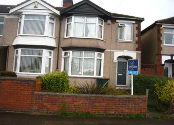 Thumbnail 4 bedroom terraced house for sale in Torrington Avenue, Tile Hill, Coventry