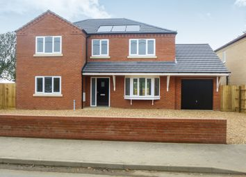Thumbnail 4 bedroom detached house for sale in Pius Drove, Upwell, Wisbech