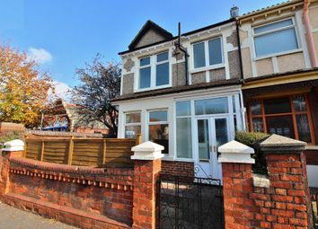 Thumbnail 3 bedroom end terrace house for sale in Copnor Road, Portsmouth