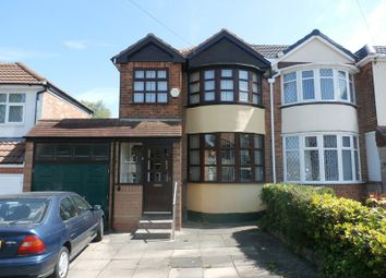 Thumbnail 3 bed semi-detached house for sale in Forest Hill Road, Sheldon, Birmingham