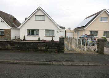 Thumbnail 3 bed bungalow for sale in Glynhir Road, Pontarddulais, Swansea