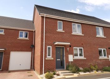 Thumbnail 3 bed terraced house for sale in Chariot Drive, Kingsteignton, Newton Abbot, Devon