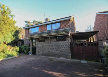 Thumbnail 4 bed detached house for sale in Heathpark Drive, Windlesham, Surrey