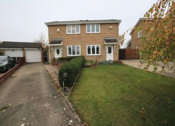 Thumbnail 2 bed semi-detached house for sale in Farnham Close, Newton Aycliffe