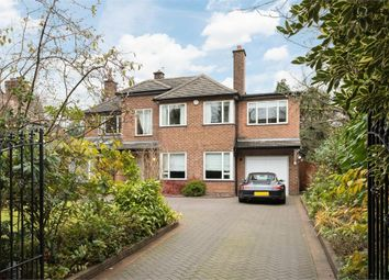 Thumbnail 5 bed detached house to rent in Holly Road North, Wilmslow, Cheshire