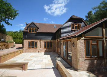 Thumbnail 4 bed detached house to rent in Lordswood Lane, Chilworth, Southampton