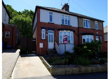 Thumbnail 3 bed semi-detached house for sale in Strelley Avenue, Beauchief, Sheffield