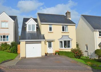 Thumbnail 4 bedroom detached house for sale in Cornlands, Sampford Peverell, Tiverton