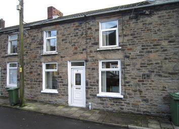 Thumbnail 2 bed terraced house for sale in School Street, Deri