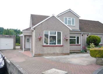 Thumbnail 4 bedroom semi-detached house to rent in The Dell, Laleston, Bridgend, Mid. Glamorgan.