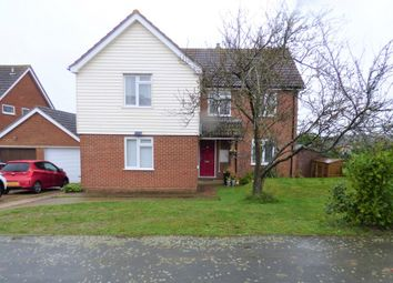 Thumbnail 4 bed detached house for sale in Falklands Road, Haverhill