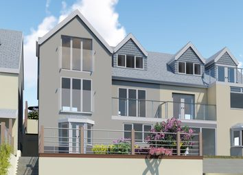 Thumbnail 2 bed flat for sale in Downs View, West Looe, Cornwall