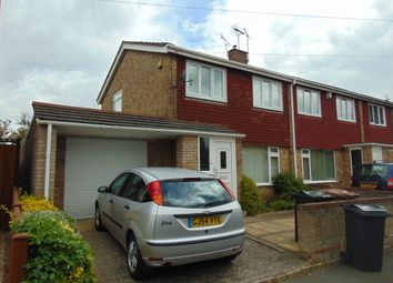 Thumbnail 3 bed semi-detached house to rent in Glover Road, Willesborough, Ashford
