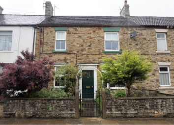 Thumbnail 3 bed terraced house for sale in The Causeway, Bishop Auckland