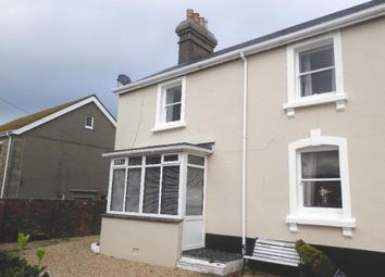 Thumbnail 2 bed semi-detached house to rent in West End, Marazion