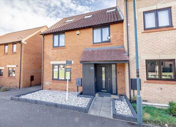 Thumbnail 4 bed end terrace house for sale in Langport Crescent, Oakhill, Milton Keynes