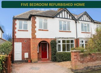 Thumbnail 5 bed semi-detached house for sale in Carisbrooke Road, Knighton, Leicester