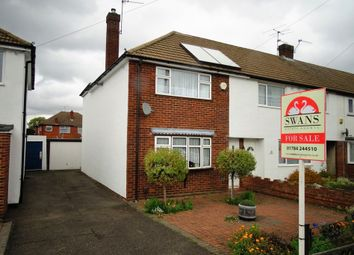 Thumbnail 2 bed end terrace house for sale in Stuart Way, Staines-Upon-Thames