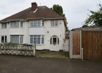 Thumbnail 3 bed semi-detached house for sale in Coombe Road, Handsworth, Birmingham