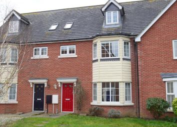Thumbnail 4 bed town house for sale in Meadow Crescent, Purdis Farm, Ipswich