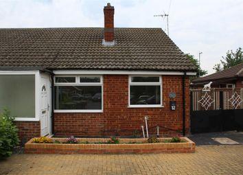 Thumbnail 3 bedroom semi-detached bungalow for sale in Talbot Avenue, Orton Longueville, Peterborough