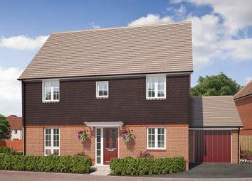 "Thumbnail 4 bed detached house for sale in ""The Windsor"" at Saunders Way, Basingstoke"