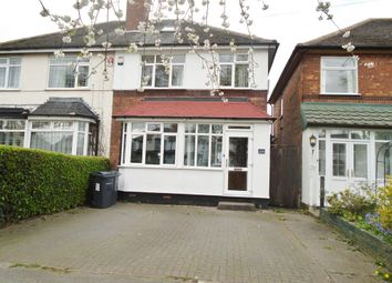 Thumbnail 3 bed semi-detached house to rent in Kingsbury Road, Erdington, Birmingham