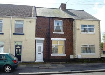 Thumbnail 3 bed terraced house to rent in Frederick Street South, Meadowfield, Durham