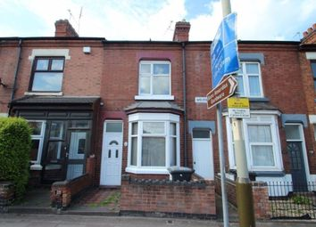 Thumbnail 3 bed terraced house to rent in Welford Road, Knighton Fields, Leicester