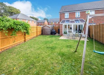 Thumbnail 3 bed semi-detached house for sale in Grantham Road, Wellesbourne, Warwick